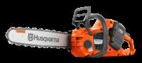 """Akumulatorska verižna žaga Husqvarna 340i (14"""") ročni napenjalnik verige"""