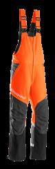 Hlače z naramnicami Husqvarna Technical A 7 cm krajše hlačnice